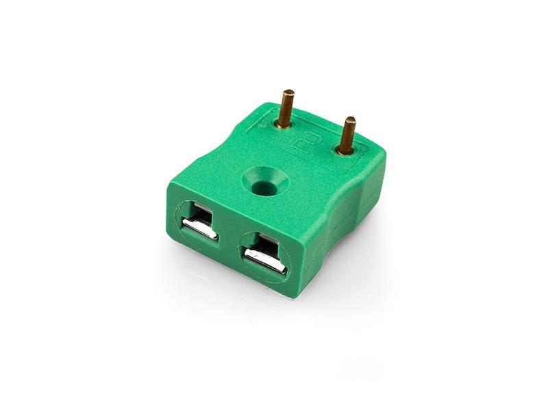 Prese di connettore termocoppia con perni in ottone montaggio PCB