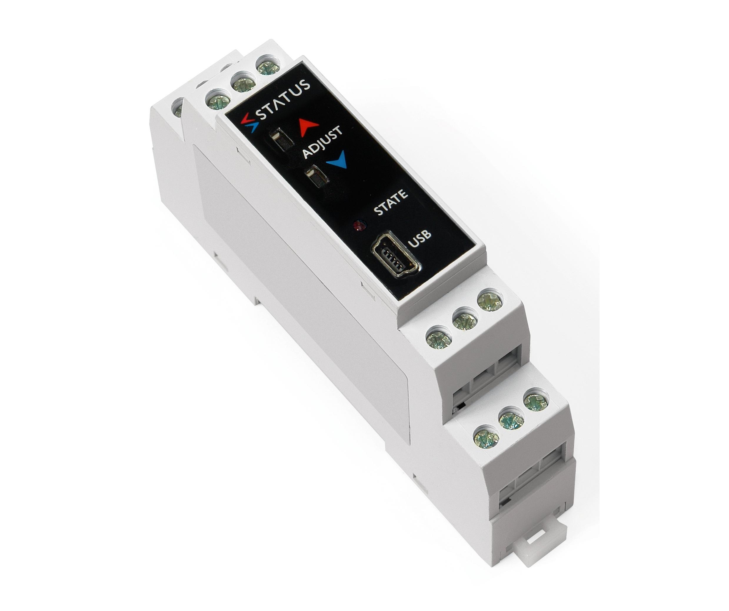 SEM1610 Programmabile Pt100, termocoppie, mV e mA passiva.