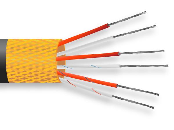 PVC ha isolato il cavo del sensore PRT / filo
