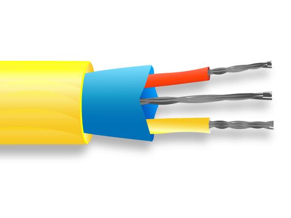 PVC Mylar schermato cavo di termocoppia / filo ANSI