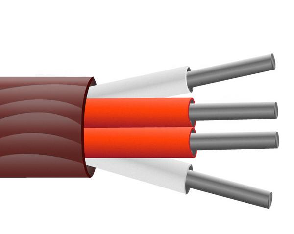 Isolati con gomma siliconica PRT sensore cavo / filo