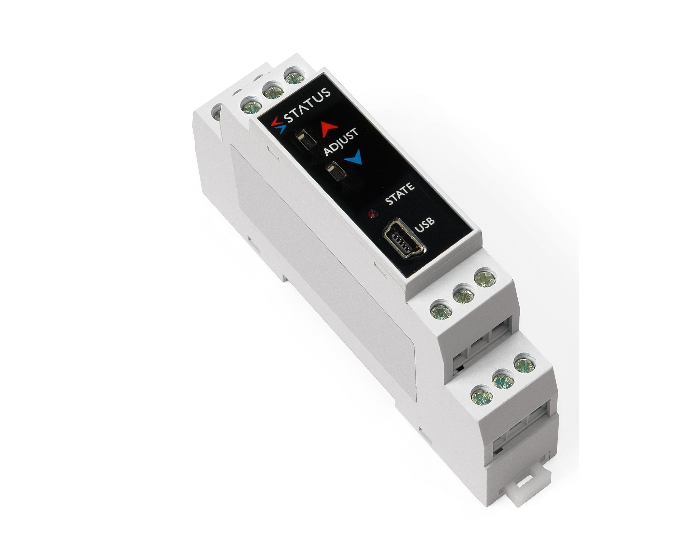 SEM213TC spingere pulsante termocoppia DIN rail temp trasmettitore