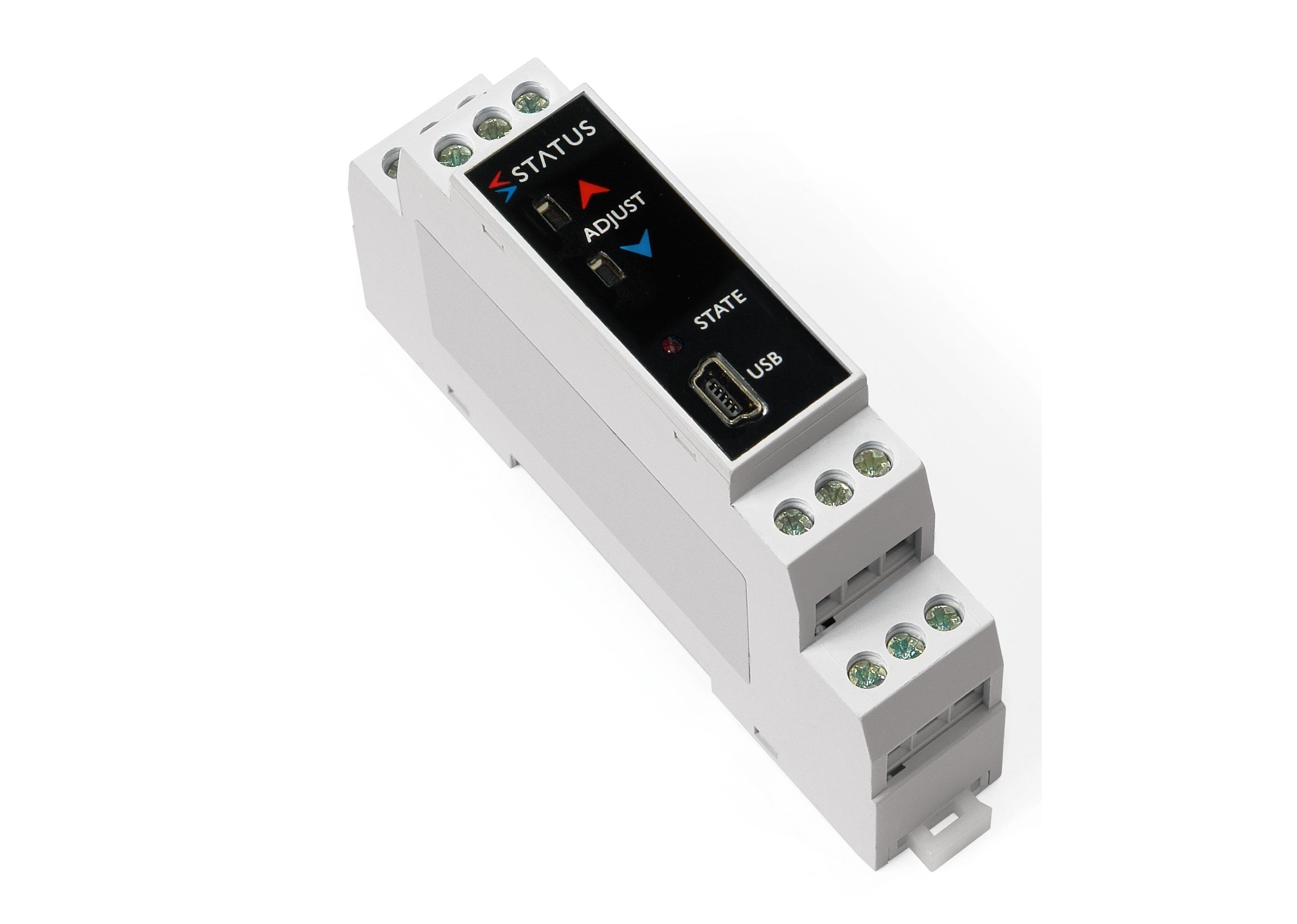 SEM213P Push di trasmettitore di temperatura con rail Pt100 DIN di pulsante