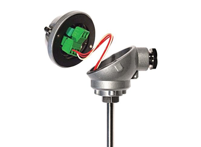 HTR200 In miniatura nella testa RTD / trasmettitore di temperatura potenziometrica