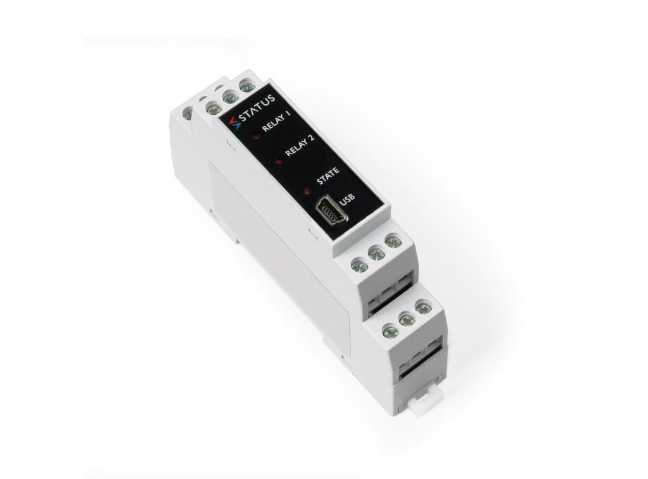SEM1633 Relè doppio viaggio amplificatore per RTD e sensori potenziometrica