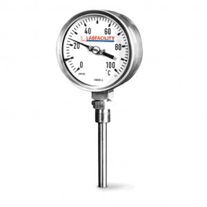 """Calibri di temperatura del termometro Bi-Metal - Stile di ingresso inferiore con tasca BSP da 1/2"""""""