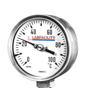 Indicatori di temperatura del termometro bi-metallo - Stile di ingresso inferiore senza tasca