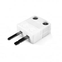 Tipo di miniatura ad alta temperatura (650° C) in ceramica termocoppia spina IM-J-M-HTC J IEC