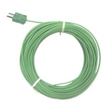 PFA Exposed Junction Thermocouple with Miniature Plug - Type K