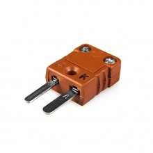 Ad alta temperatura in miniatura termocoppia Connector MTC-K-M-HTP spina tipo K