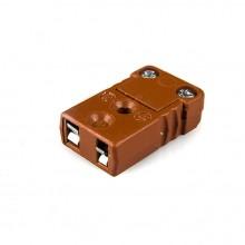 Ad alta temperatura in miniatura connettore Socket MTC-J-F-HTP termocoppia J