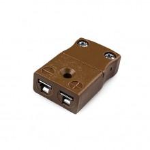 Miniatura termocoppia connettore presa In linea IM-T-FS tipo IEC T