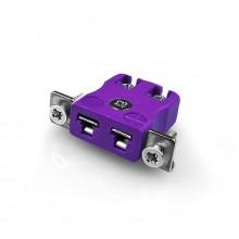 Miniatura rapido filo termocoppia connettore montaggio a pannello con tipo di IM-E-SSPFQ staffa in acciaio inox E IEC