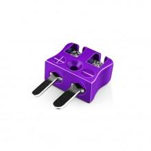 Miniatura filo veloce connettore termocoppia Plug IM-E-MQ tipo IEC E
