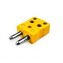 Tipo di filo rapido standard termocoppia connettore spina AS-K-MQ K ANSI