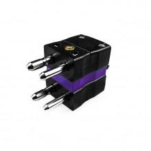 Tipo di termocoppia standard connettore spina Duplex è-E-MD E IEC