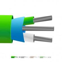 Isolati in PVC tipo K Mylar termocoppia cavo schermato / filo (IEC)