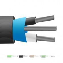 Isolati in PVC tipo J Mylar termocoppia cavo schermato / filo (IEC)