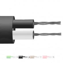 Tipo J isolato in PFA coppia piatta termocoppia cavo / filo (IEC)