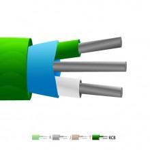 Tipo VX (KCB) PVC isolati Mylar termocoppia cavo schermato / filo (IEC)