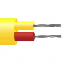 Tipo K isolato in PFA coppia piatta termocoppia cavo / filo (ANSI)