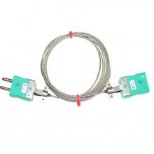 Cavi di prolunga Glassfibre termocoppia tipo K con spina Standard & Sockets (IEC)