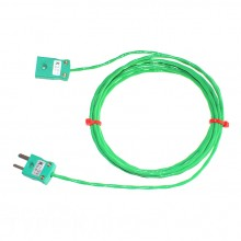 Cavi di prolunga termocoppia di tipo K PFA con miniatura Plug & Socket (IEC)