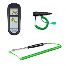 Professional Racing Kit 4 with adjustable tyre probe, premium digital meter & ceramic tip sensor in soft carry case